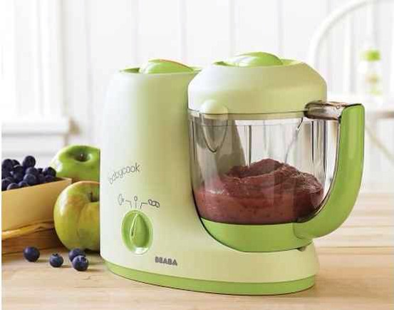 3. The Beaba Babycook Baby Food Maker can be used to quickly reheat or defrost precooked foods.