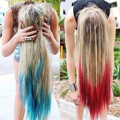 To have colored hair 😄🌈