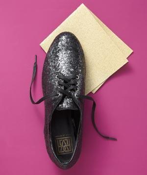 Sandpaper soles for better traction.