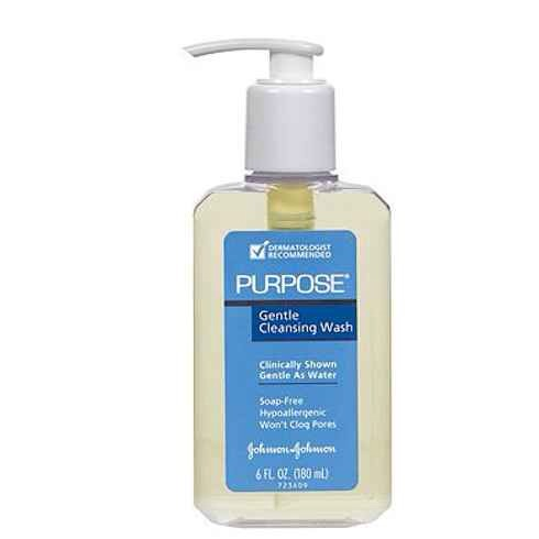 13. Purpose Cleansing Wash & Moisturizer:  A lightweight, hypoallergenic duo that's gentle enough to use daily, even for those with sensitive skin.