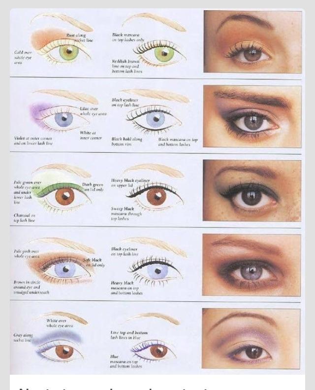 идеи тип глаз и макияж фото образом