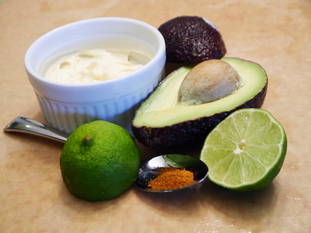 Moisturizing Conditioner 1 Avocado, peeled 1 cup mayonnaise Mash the avocado flesh and mayonnaise together, apply it to your hair and scalp, and cover your head with a shower cap or plastic wrap. Let the mixture sit on your head for approximately 20 minutes and shampoo and rinse it out of your hair.