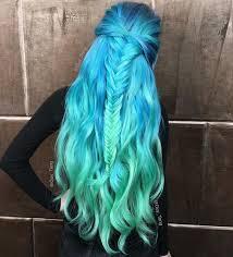 This is mermaid hair forsure.