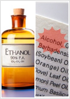 """Stay away from products formulated with alcohol 