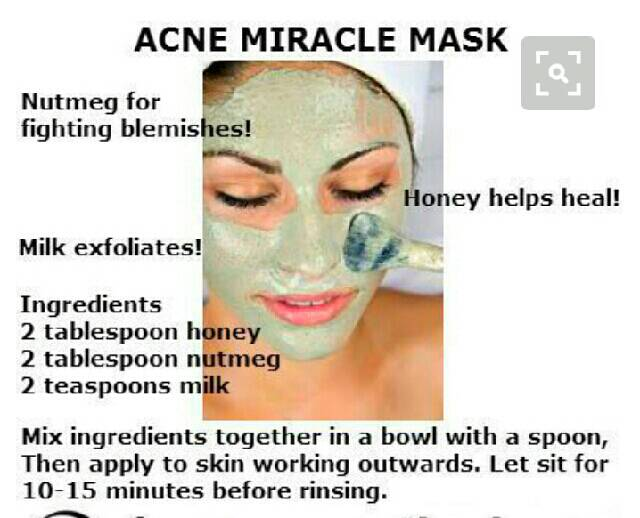 How to get rid of acne.