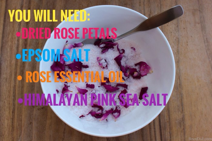 What You'll Need |Magnesium Rose NaturalDetox Bath Salt!