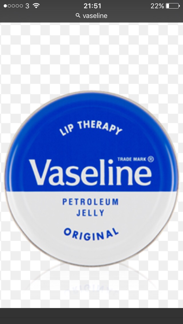 Apply a little bit of Vaseline to your eyelashes when going to bed so they stay nice and healthy because the goodness in the Vaseline stops them from going dry.