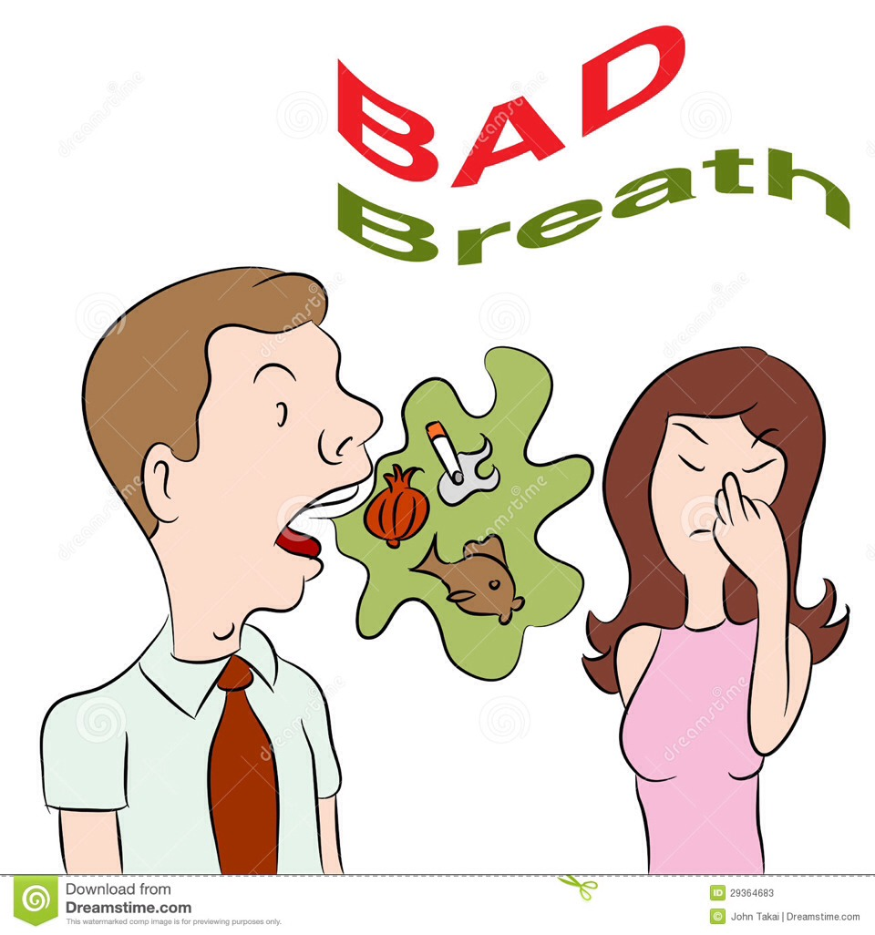 Halitosis (bad breath): tongue scrapers remove oral bacteria from the tongue ( where most of the bad breath comes from).