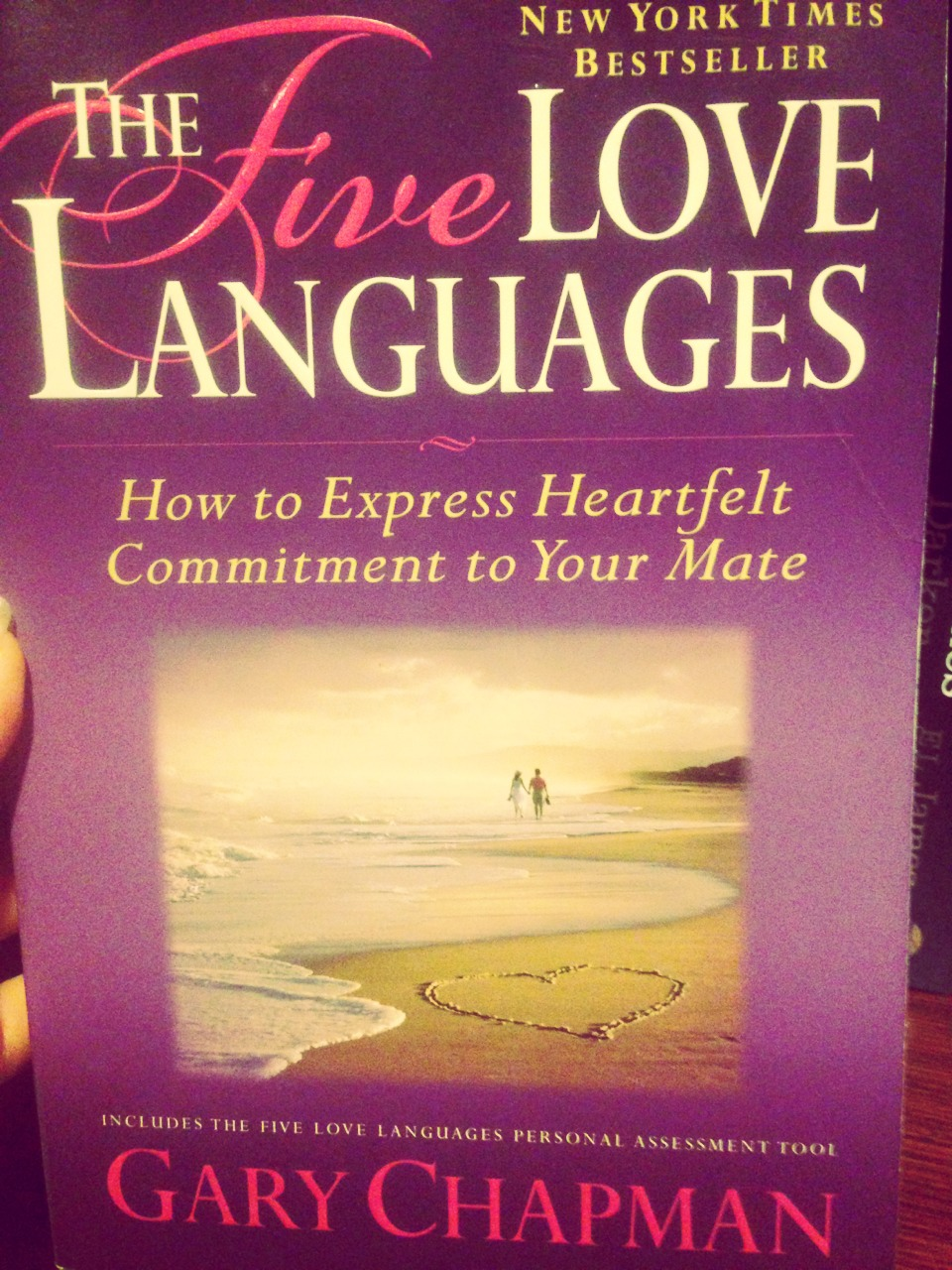 This is a great book on how to show love to each other. There are 5 different love languages and we all have different ones.  Make sure you can speak the same love language as you partner and know how to keep their love tank full. Great book
