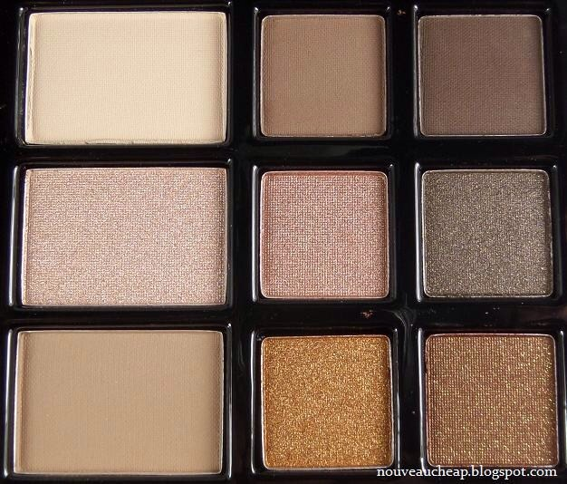 Nude eye shadows are a must for this look// hard candy eyeshadow palette// I use this one it's a fav