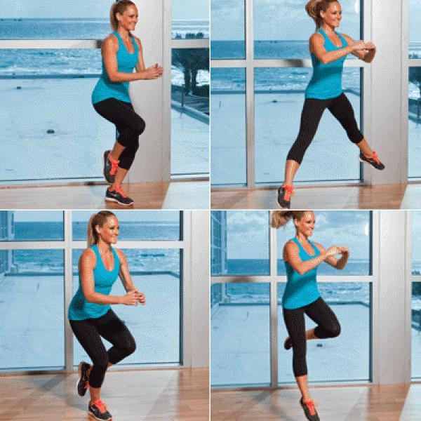 Problem: Cankles Solution:Lateral Leap & Hop