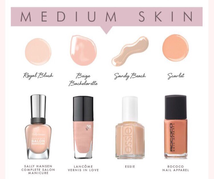 Best nude colors for medium skin
