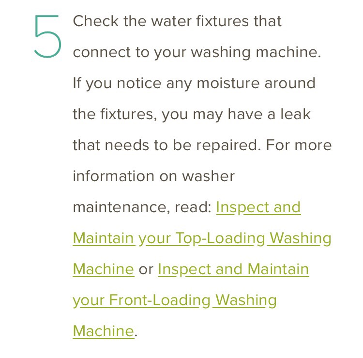 https://brightnest.com/todos/inspect-and-maintain-your-top-loading-washing-machine  https://brightnest.com/todos/inspect-and-maintain-your-front-loading-washing-machine