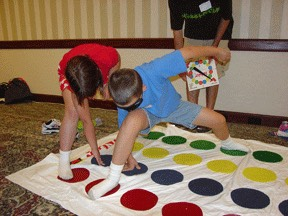 Play a game like twister