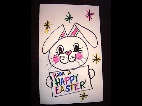 Why don't you and your kid/kids all draw anything Easter related! You can also put this up on the wall.