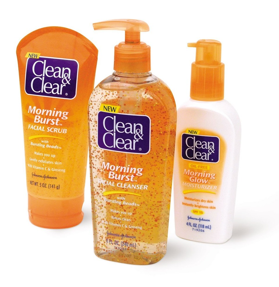 I'm sure it's obvious but you need to was your face. I like clean and clear but use whatever you like!