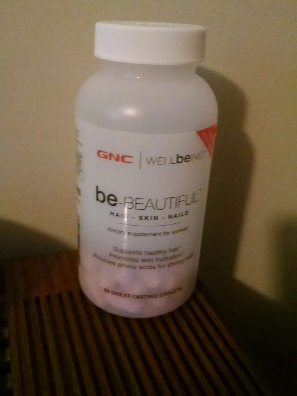 The second thing I did was start taking these gnc vitamins, they don't smell or taste the greatest but they have definitely helped me grow my hair faster and healthier.