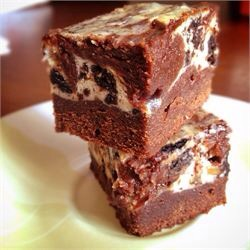 Melt-in-your-mouth brownies that are easy and elegant. Chocolate brownies marbled with cheesecake make fabulous squares!
