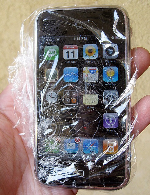 About to go running but worried it might rain?Don't let that stop you! At least your smartphone will be protected with a coat of plastic wrap. The touchscreen functionality will still work. Please tap for full view.