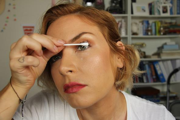 step 5 - apply to lashes