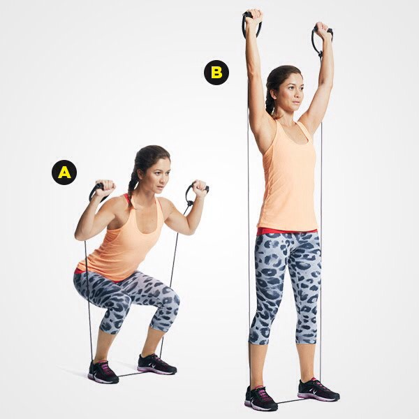 MOVE 1 Squat to Press
