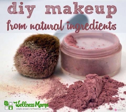 Natural Blush Makeup Recipe  http://wellnessmama.com/8360/natural-blush-recipe/