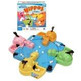 Hungry Hungry Hippos - this game is purely fun -- there is really no skill or strategy involved. The game can get loud (as can the kids playing it), so it is not ideal if there are smaller children asleep while family game night is going on, and you have to be careful of the small marbles.