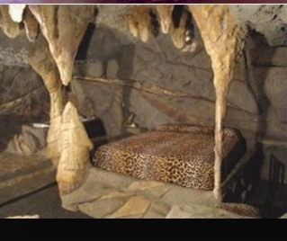 Cave bed