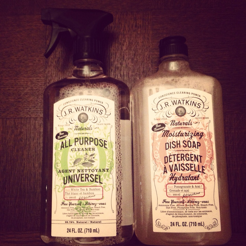 J.R. Watkins products will make your house smell incredible & make you actually enjoy cleaning! :)
