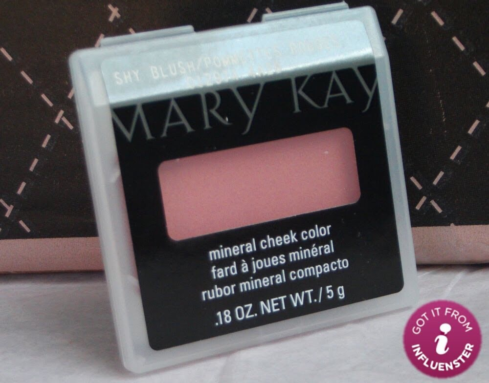 Blush:  Brand: Mary Kay   Mary Kay is not a makeup brand you can buy at the store but can order through a catalog or online. It is a direct sales makeup brand but most of Mary Kay makeup is good quality. I have found that Mary Kay's blushes give off a natural and yet pretty color on my cheeks