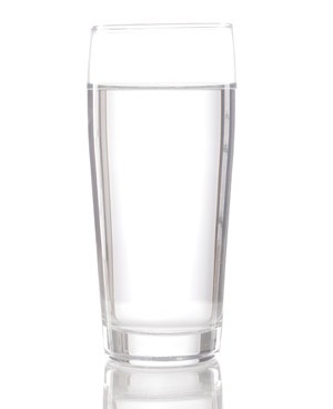 Dink a glass of water at the first sign of your headache and keep siping on water throughout the day.