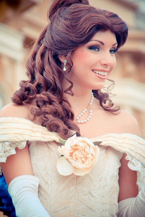 Belle Can be found at Enchanted Tales with Belle in Fantasyland.