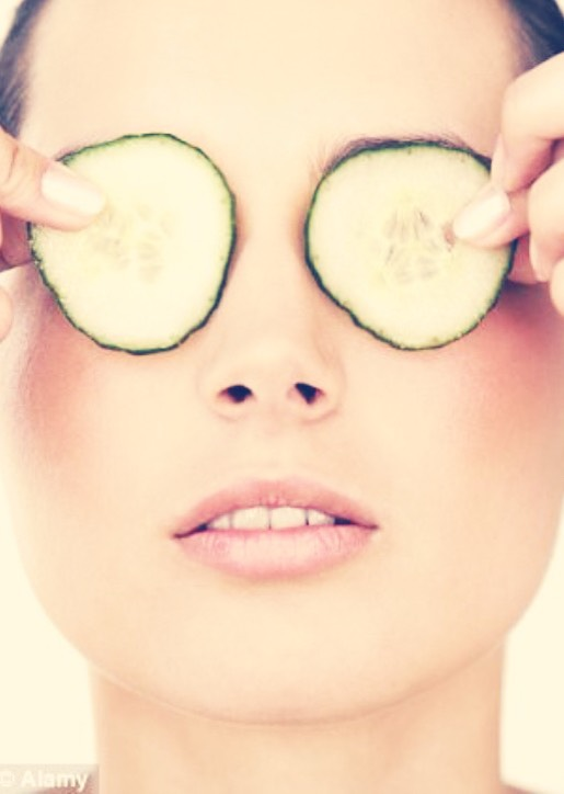 Another technique is to soothe your eyes with something cold.You could use cucumbers or fresh tea bags.Use a soothing tea like chamomile or peppermint,so you get the benefits of aromatherapy at the same time.