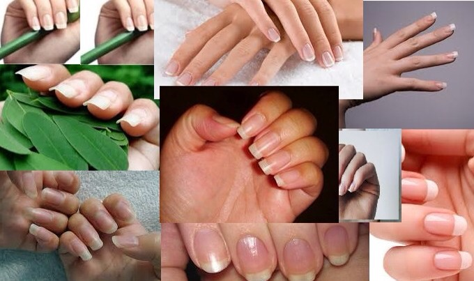The quickest way to long, healthy nails is by taking a Biotin Supplement Pill.  Biotin is a type of vitamin that is found in foods such as egg yolk, liver and yeast. However, if you're like me, I hate taking pills!  So here is a great solution that you can make at home to grow those nails