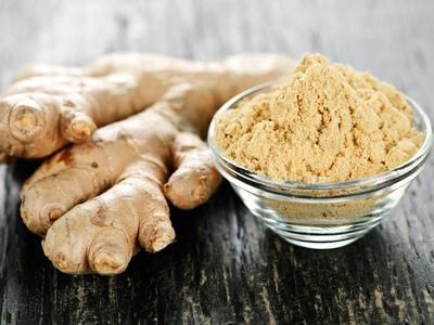 And ginger acts as an exfoliant that removes black heads and dirt.