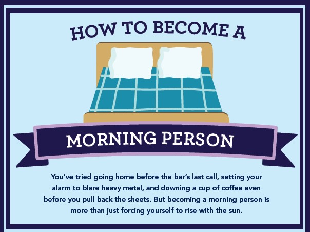 Wanna know how to go from a sleepy morning head to an energetic person in the morning? then keep reading!