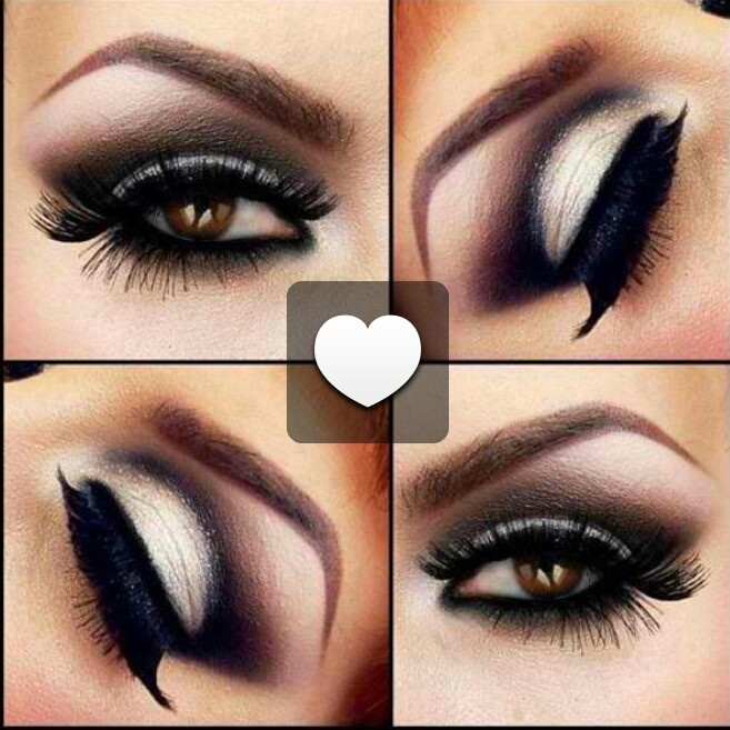 Black And White Smokey Eye Makeup Tutorial Mugeek Vidalondon