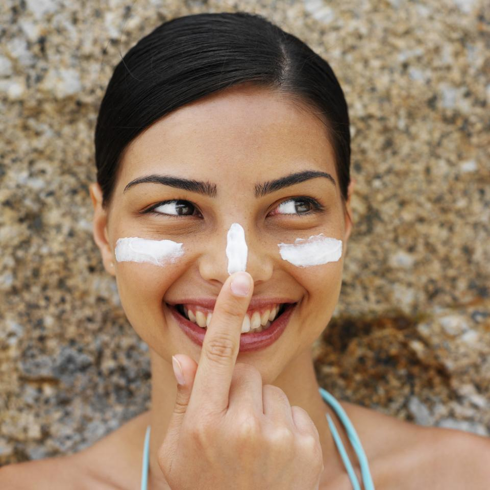 Step 2: Skip SPF for the day.While it is always important to protect your skin, wearing SPF on your face can cause a white cast under flash photography. If you know you will be taking photos, avoid wearing products with sunscreen in them.