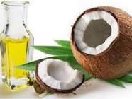 Coconut oil  Apply on to hair, leave overnight & wash off.