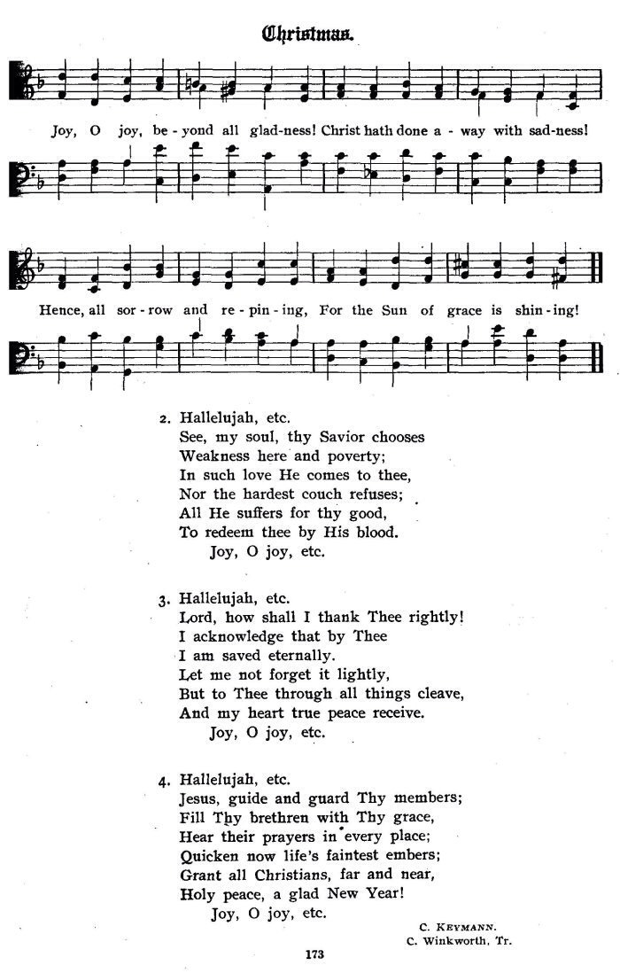 Sing 'Hallelujah!'