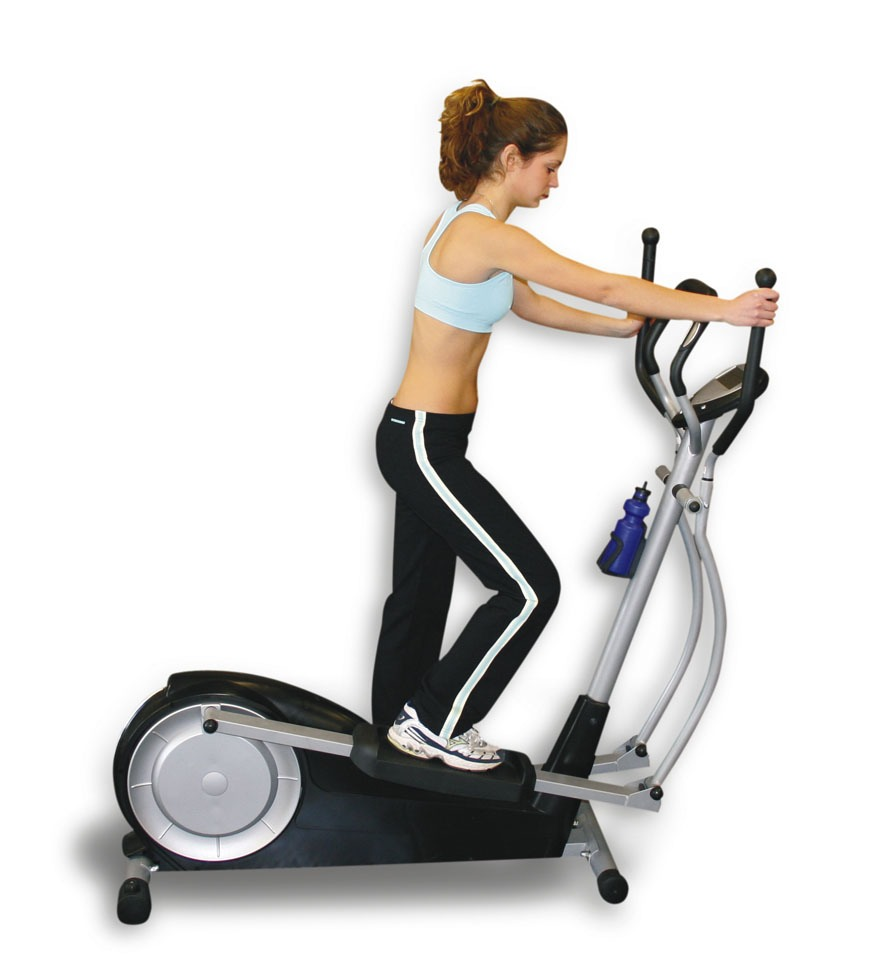 Go on the elliptical for 20 minutes everyday.