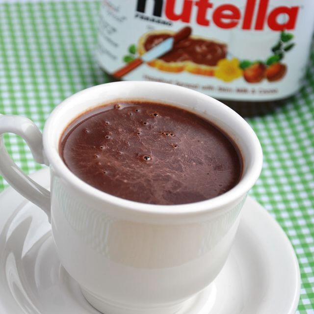 17. Nutella Hot Chocolate