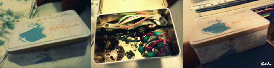 1. find an old box (food container if u want) 2.put all ur jewellery inside
