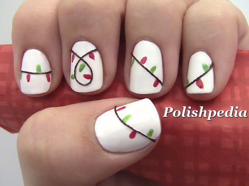 Cute Christmas Nails Love by Kelly Lynch , Musely