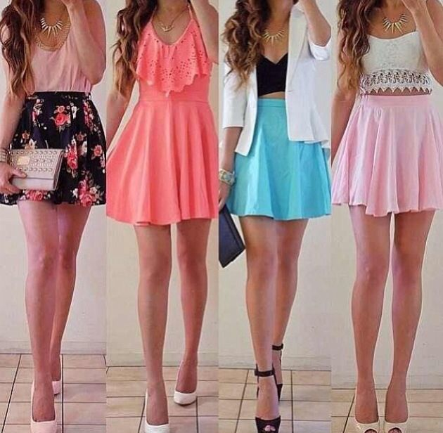 Cute outfits for spring👗👡