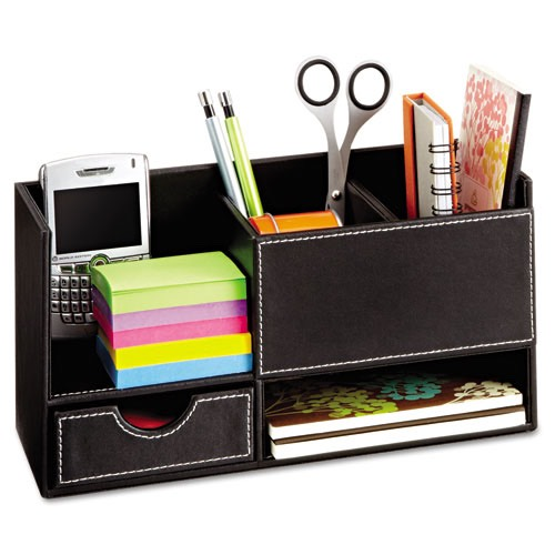 For your desk, use these cute organizers to keep your essentials cleaned up and right by your side.