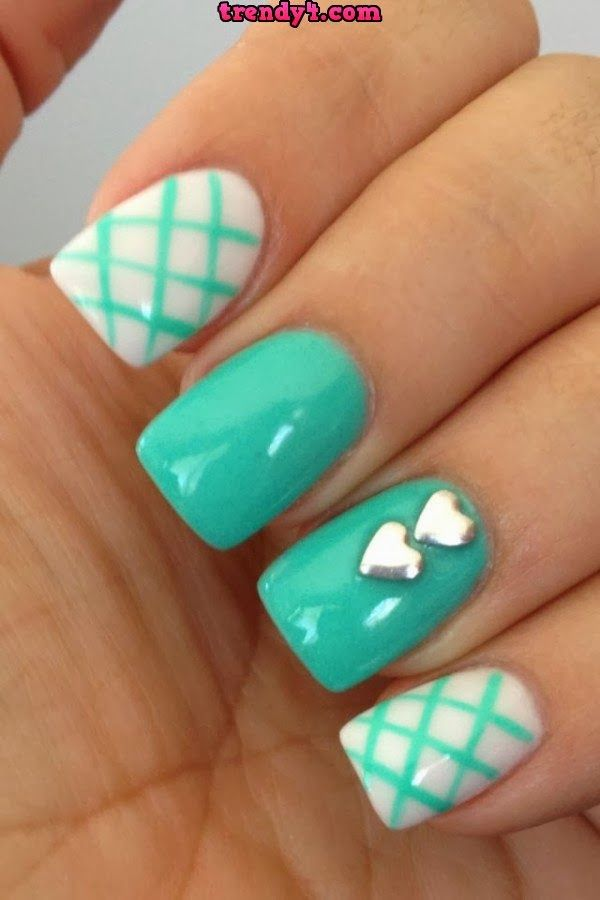 Simple Cute Nails Papillon Day Spa
