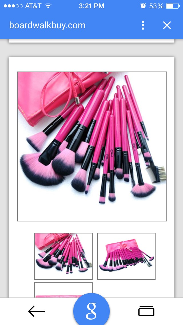 http://www.boardwalkbuy.com/products/hot-pink-24-piece-make-up-brush-set?utm_medium=cpc&utm_source=googlepla&variant=741052501&gclid=Cj0KEQiA6dGmBRC_3Mi-x_XywKsBEiQA1lcFP6T4S-sRj_hf_wSX7d5APhOnutm7h8DUHg0lJauR6VkaAjm78P8HAQ