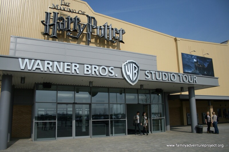 See the actual set of Harry Potter!!!