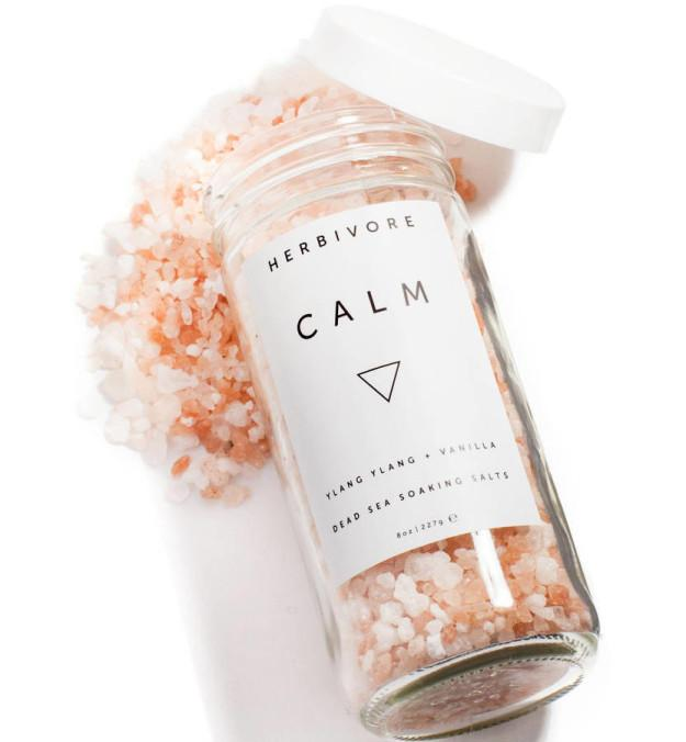 These soothing Dead Sea salts.For truly relaxing baths. By The Estate Yard